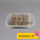 """Food lunch box """"ClamShell"""" Type Compartment 1 packing 500 pcs./crate"""